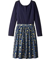 fiveloaves twofish - Indigo Gold Abbie Dress (Little Kids/Big Kids)