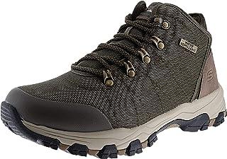 أحذية رجالي Skechers Selmen Walder بلون الفحم