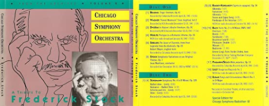 Chicago Symphony Orchestra: From the Archives Vol. 8- A Tribute to Frederick Stock