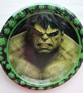 hulk party plates