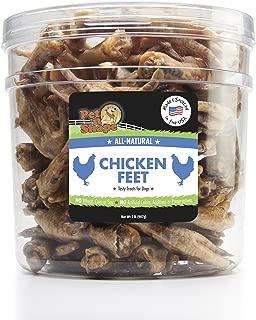 Pet n Shape Chicken Feet All-Natural Dog Treats