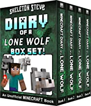 Diary of a Minecraft Lone Wolf BOX SET - 4 Book Collection 1: Unofficial Minecraft Books for Kids, Teens, & Nerds - Advent...