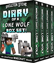 Diary of a Minecraft Lone Wolf BOX SET - 4 Book Collection 1: Unofficial Minecraft Books for Kids, Teens, & Nerds - Adventure Fan Fiction Diary Series ... Mobs Series Diaries - Bundle Box Sets 7)