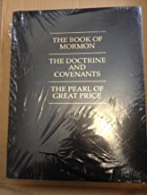 The Book of Mormon, The Doctrine and Covenants, The Pearl of Great Price - Extra Large Print