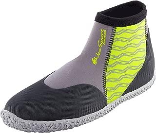 NeoSport Premium Neoprene Low Top Pull On Boot Wetsuit