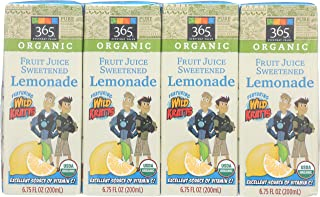 365 Everyday Value Featuring Wild Kratts, Fruit Juice Sweetened Lemonade (8 - 6.75 fl oz Boxes), 54 fl oz