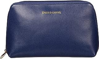 Smith & Canova Women's Zip Top Cosmetic Bag Purse