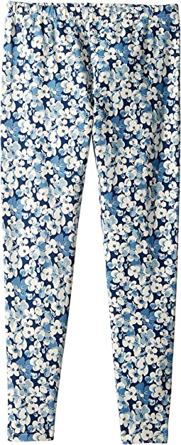 Floral Stretch Jersey Leggings (Little Kids/Big Kids)