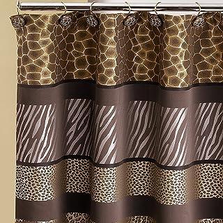 Popular Bath Safari Stripes Shower Curtain 70X72