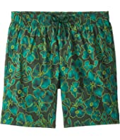 Vilebrequin Kids - Natural Flowers Superflex Swim Trunk (Big Kids)