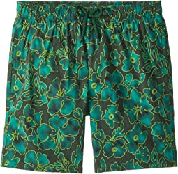 Vilebrequin Kids Natural Flowers Superflex Swim Trunk (Big Kids)