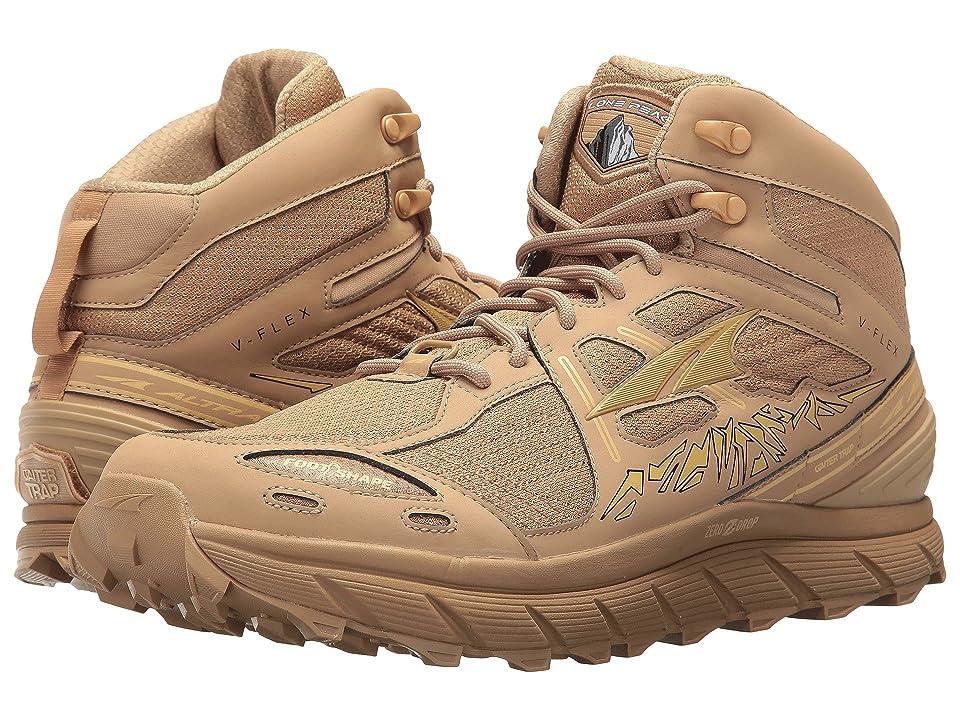 Altra Footwear Lone Peak 3.5 Mid Mesh (Sand) Men