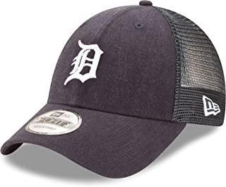 New Era 9Forty Detroit Tigers Hat Trucker Adjustable Mesh Navy Blue Cap