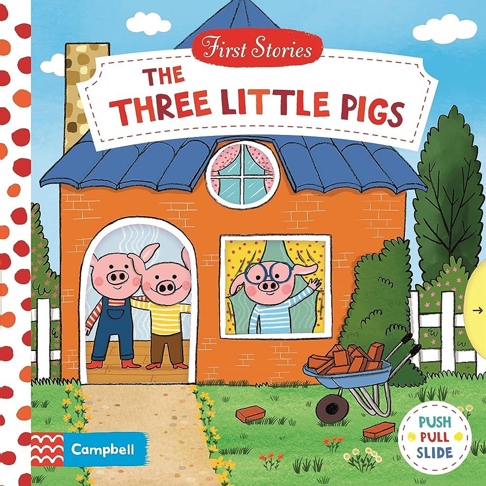 静かなセットアップトラクターThe Three Little Pigs (First Stories)
