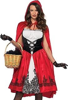 Leg Avenue Women's Red Riding Hood Knee Length Dress Costume