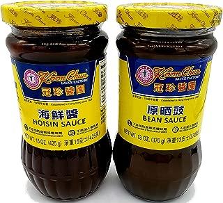 Koon Chun Bean Sauce & Hoisin Sauce Combination Pack, 1 Jar of each.