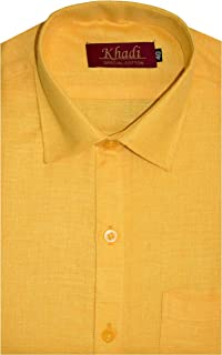 Reverence-Men's Half Sleeves Soft Touch Linen Cotton Regular fit, Formal Shirt, Brand-Irrio