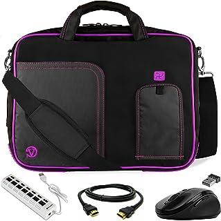 SumacLife Cady Blue Laptop Carrier Bag for Google PixelBook ChromeBook Pixel 12.3