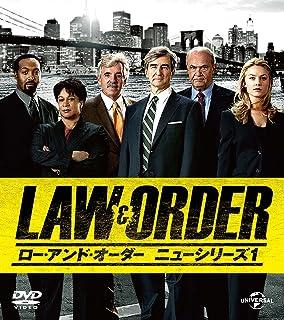 LAW&ORDER/ロー・アンド・オーダー<ニューシリーズ1> バリューパック [DVD]