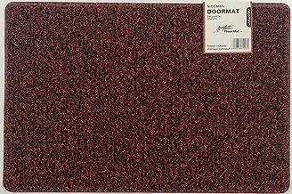 Nicoman Dirt-Trapper Barrier Door Mat Heavy Duty Floor Matt-(Use Indoor or Sheltered Outdoor), Spaghetti Doormat, Red with...