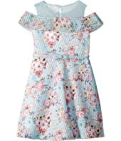 Cold Shoulder Fit-and-Flare Dress (Toddler/Little Kids)