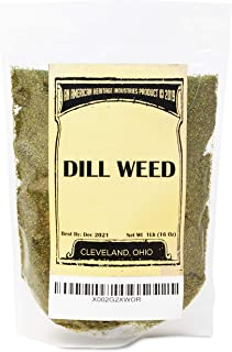1 LB Dill Weed, Natural Cut and Sifted Dill Weed for your Pantry, by American Heritage Industries