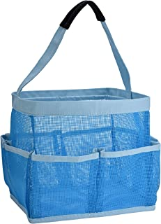 Mesh Shower Bag - Easily Carry and Organize Your Bathroom Accessories and Toiletry Essentials While Taking a Shower. (9-Po...