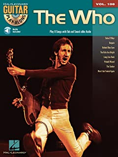 The Who Songbook: Guitar Play-Along Volume 108