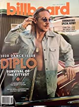 BILLBOARD MAGAZINE - MARCH 14, 2020 DANCE ISSUE - DIPLO