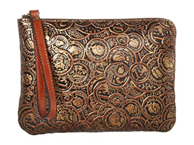 Patricia Nash Cassini (Bronze) Wristlet Handbags