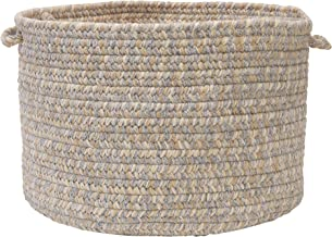 Colonial Mills Tremont Utility Basket, 14 by 10-Inch, Gray