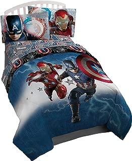 Marvel Captain America Civil War Twin Reversible Comforter