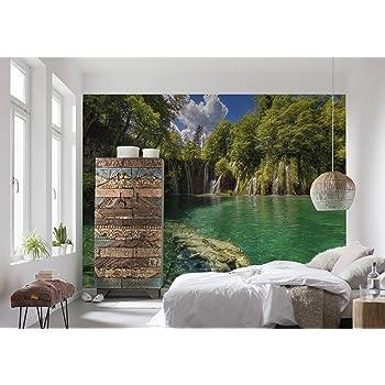 ancho x altura incluye de cola tama/ño: 368/X 254/cm multicolor 8/piezas Komar 8/ fabricado en Alemania /882/ /Papel pintado fotogr/áfico de papelBrooklyn Brick