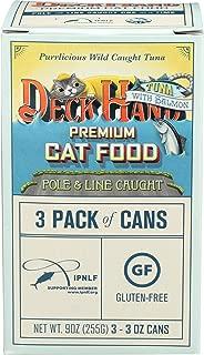 Deck Hand, Cat Food Tuna Salmon, 3 Ounce, 3 Pack