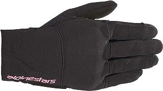 Alpinestars Women's Reef Motorcycle Riding Glove, Black/Fuchsia, X-Small