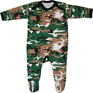 Super cool Camo Printed Baby Sleepsuit with feet 3-6 Months