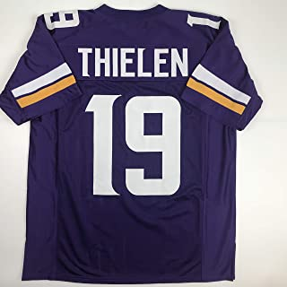 Unsigned Adam Thielen Minnesota Purple Custom Stitched Football Jersey Size Men's XL New No Brands/Logos