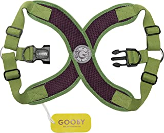 Gooby Perfect Fit Dog Harness, Small, Purple