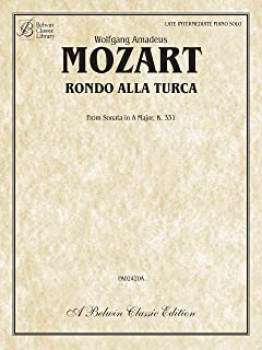 Rondo Alla Turca: from Sonata in A Major, K. 331 (Belwin Classic Library)