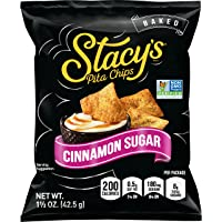 24 Pack Stacy's Cinnamon Sugar Flavored Pita Chips 1.5 Ounce
