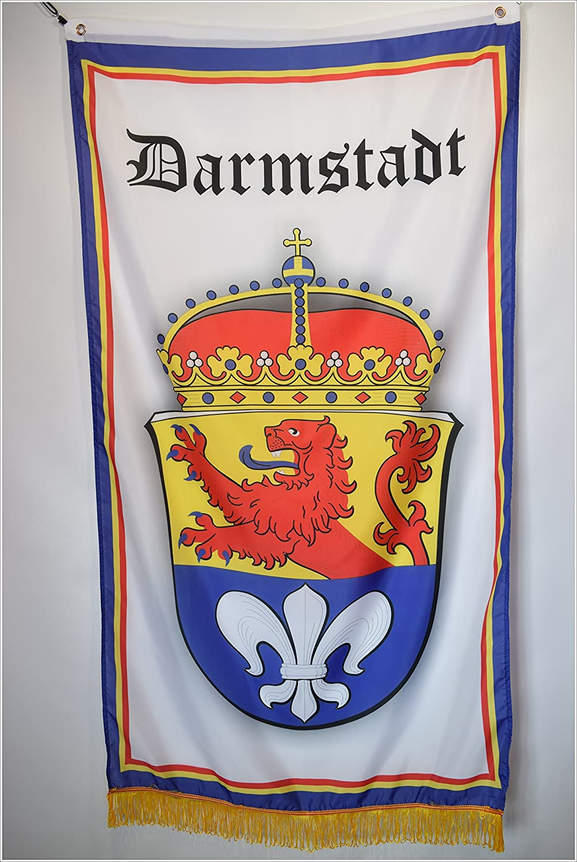 Apedes Darmstadt Germany Coat of Arms Garage Hangar Basement Flag 3x5 Feet