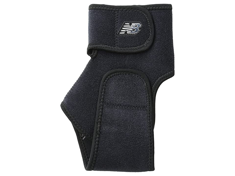 New Balance Adjustable Ankle Support (Black) Athletic Sports Equipment