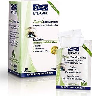 دکتر فیشر حق بیمه ، دستمال مرطوب ، غیر تحریک کننده و کم فشار آلرژی زا - از قبل مرطوب شده برای درمان مکمل چشم قرمز ، چشم خشک ، و بلفاریت و ملتحمه - تسکین دهنده ها (30)