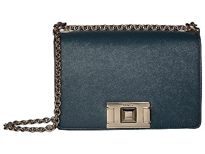Furla Mimi Mini Crossbody (Ottanio) Handbags