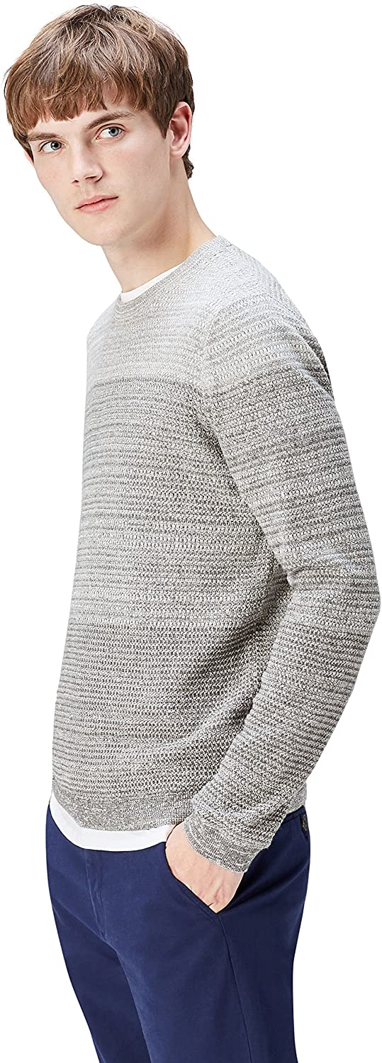 find. Men's Sweater with Ombre Cotton Knit