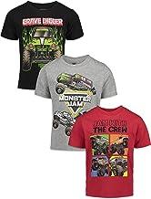 Monster Jam Trucks Boys 3 Pack Graphic T-Shirts