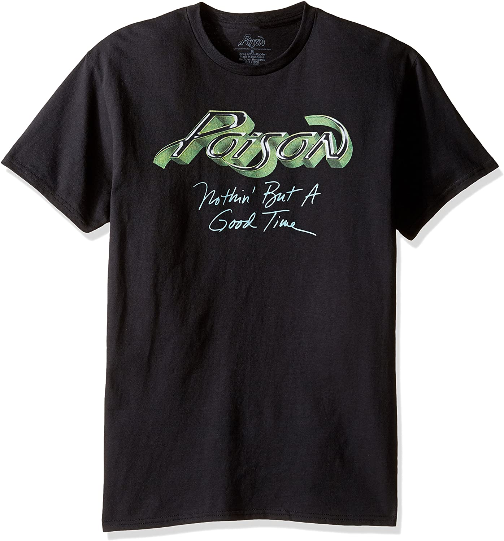 Poison Men's Nothin But A Good Time T-Shirt