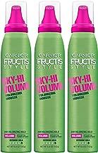 Garnier Fructis Style Sky-Hi Volume Volumizing Hair Mousse, 6.5 Ounce, 3 Count