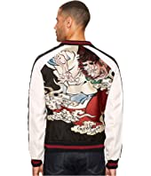 The Kooples - Twin Colour Embroidered Bomber Jacket
