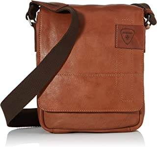 Strellson Herren Schultertasche Upminster Tasche aus Leder